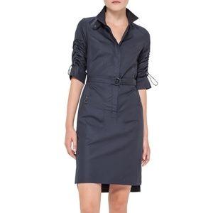 Akris Punto belted cotton shirtdress